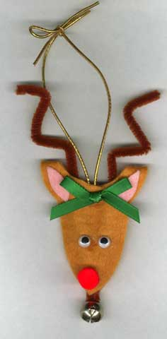 Reindeer Tree Ornament
